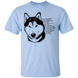 Husky Devotion - Siberian Husky - Cotton T-Shirt