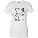 Life is Better - Samoyed - Ladies T-Shirt