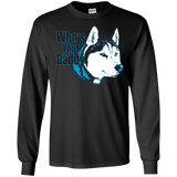 Who's your Daddy - Siberian Husky - LS Ultra Cotton Tshirt