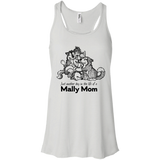 Alaskan Malamute Day in the Life Mally Mom Flowy Racerback Tank