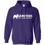 Samoyeds Because People Suck Pullover Hoodie