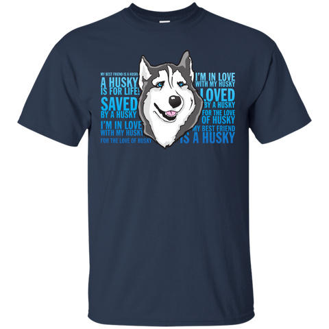 Love of a Husky Softstyle T-Shirt