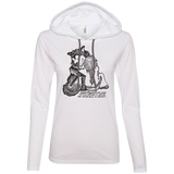 Good Friends - Alaskan Malamute Ladies Lightweight Hoodie