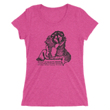 Weekly Custom Illustration on a Ladies Shirt Good Friends! Your Dog Any Breed!