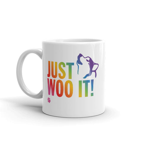 JUST WOO IT! - Alaskan Malamute, Siberian Husky Mug - Coffee Mug