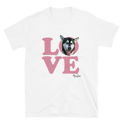 LOVE - Custom Shirts for All Dogs - Your Dogs Photo Printed