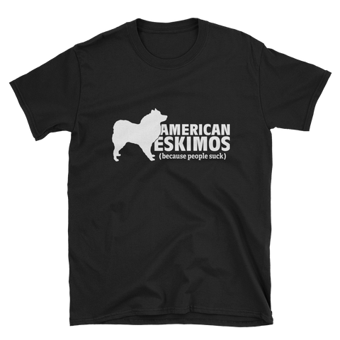 American Eskimos (because people suck) Softstyle T-Shirt
