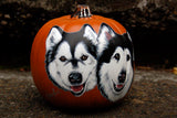 Hand-Painted Pumpkins with Your Dog!