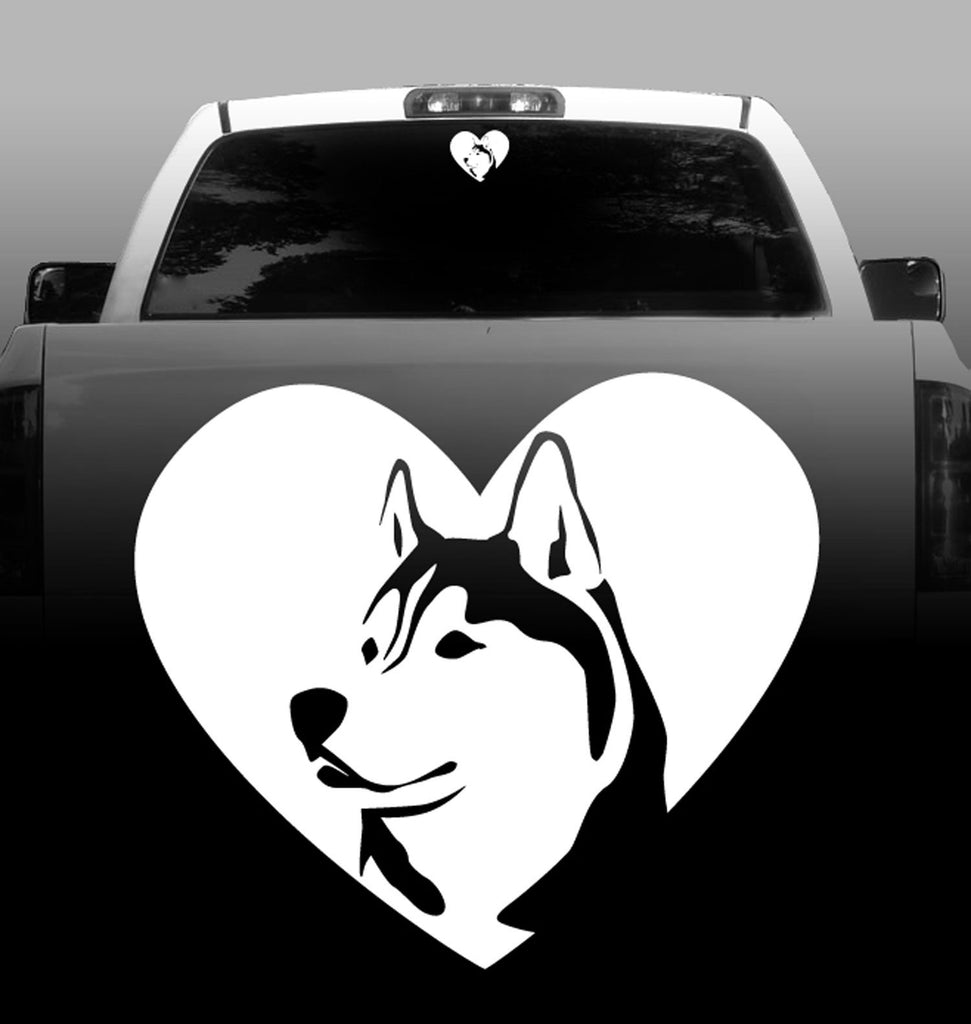 Husky Mom Sticker Die Cut Vinyl siberian