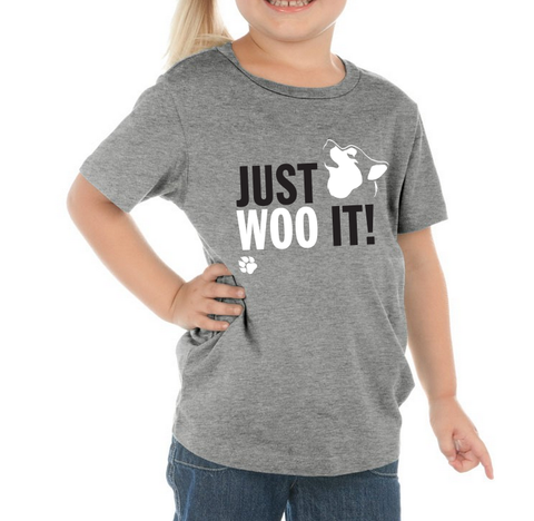 JUST WOO IT! - Dog, Siberian Husky, Alaskan Malamute T-Shirt - Kids, Toddler, Youth