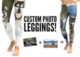 Custom Photo Leggings - Your Photos - Dogs on Leggings – Made in America