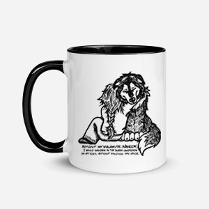 Weekly Custom Illustration on a Mug! Good Friends! Your Dog, Any Breed!