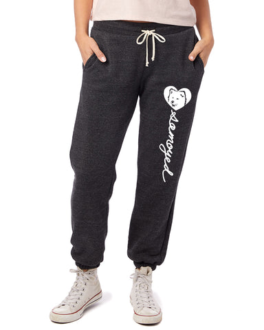 Samoyed Heart Script - Women's Jogger Pants - Samoyed