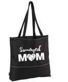 Samoyed Mom Tote, Bag - Dogs - Super Fun & Cute