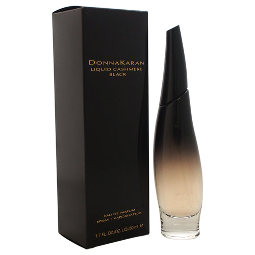 Liquid Cashmere Black by Donna Karan 1.7 oz Eau De Parfum Spray for Women