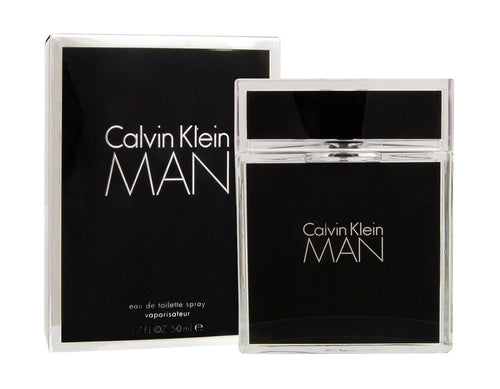 Calvin Klein Man by Calvin Klein 1.7 oz Eau de Toilette Spray for Men - GetYourPerfume.com