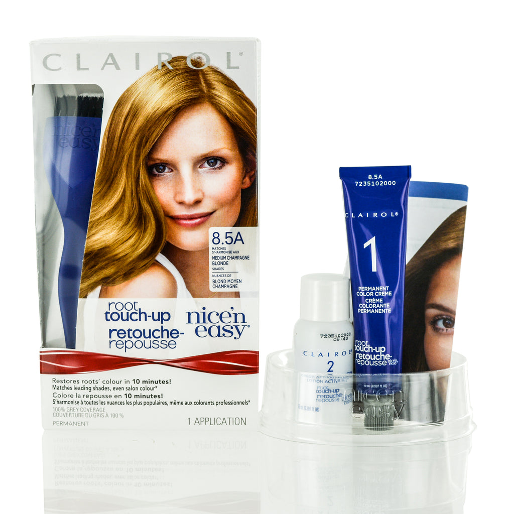 Clairol Nice N Easy Root Touch Up 85a Medium Champagne Blonde Kit