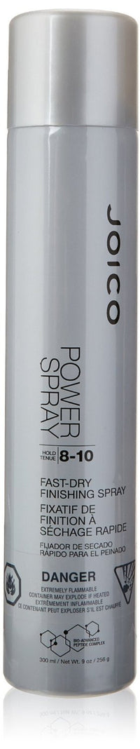 Joico Power Spray by Joico 9.0 oz 8 - 10 Dry Finishing Spray for Unisex