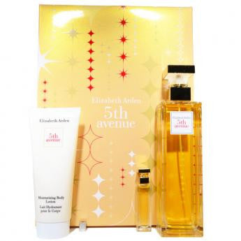 Elizabeth Arden 5th Ave Perfume by Elizabeth Arden 3 Piece Gift Set for Women