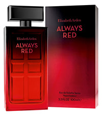 Always Red by Elizabeth Arden 3.3 oz. Eau de Toilette Spray for Women