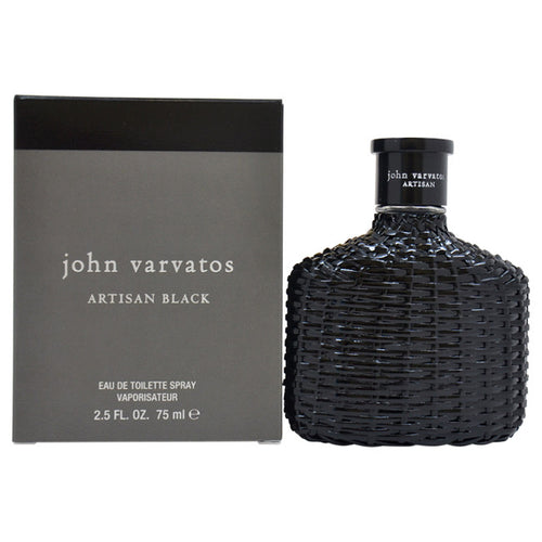 John Varvatos Artisan Black by John Varvatos 2.5 oz Eau De Toilette Spray for Men