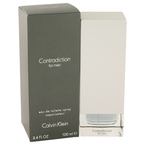 Calvin Klein Contradiction by Calvin Klein 3.7 oz. Eau De Toilette EDT Spray for Men