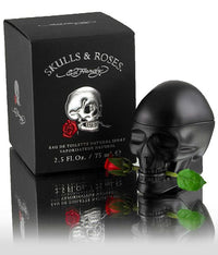 Ed Hardy Skulls & Roses By Christian Audigier 2.5 Oz EDT Spray For Men - GetYourPerfume.com
