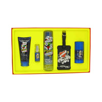 Ed Hardy Love & Luck by Christian Audigier 5 Piece Gift Set for Men