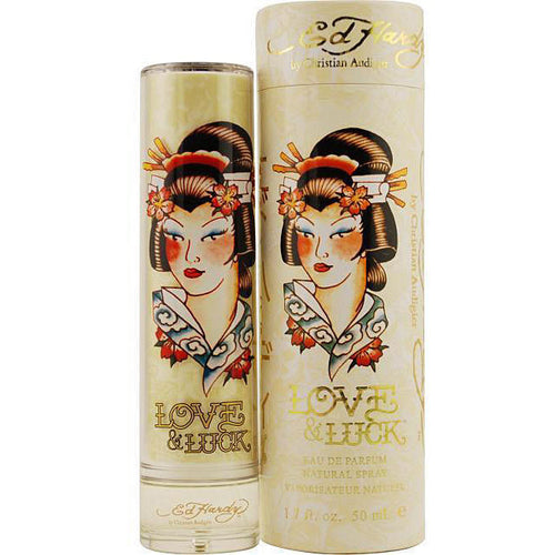 Ed Hardy Love & Luck by Christian Audigier 1.7 oz Eau de Parfum Spray for Women - GetYourPerfume.com