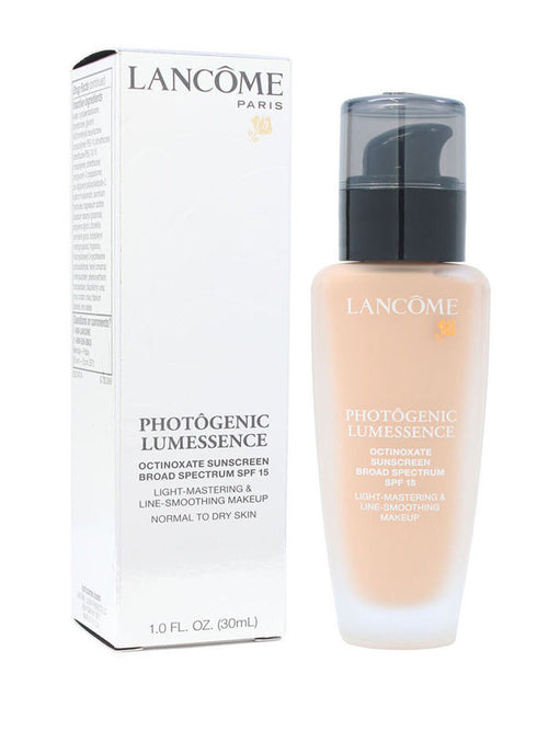 Photogenic Lumessence by Lancome Light Mastering & Line Smoothing Make Up SPF 15 1.0 oz 30 ml