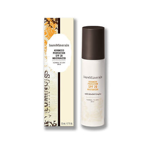 BareMinerals Advanced Protection Moisturizer 1.7 oz  SPF 20 Normal to Dry Skin For Unisex - GetYourPerfume.com