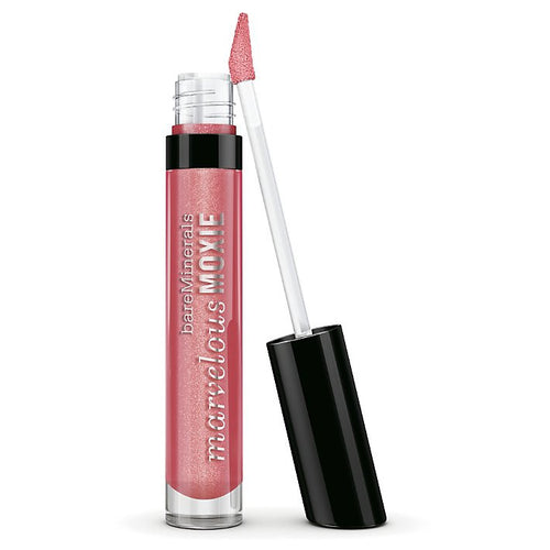 BareMinerals Marvelous Moxie Lip Gloss Smooth Talker 0.15 oz Golden Pink for Women - GetYourPerfume.com