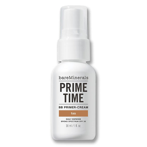 BareMinerals Prime Time BB Primer-Cream Daily Defense Broad Spectrum SPF 30 Tan 1 oz for Women - GetYourPerfume.com