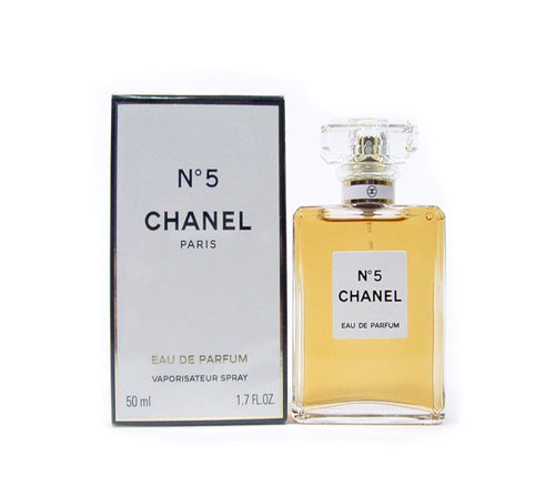 Chanel No.5 Fragrance by Chanel 1.7 oz Eau De Parfum EDP Spray for Women - GetYourPerfume.com