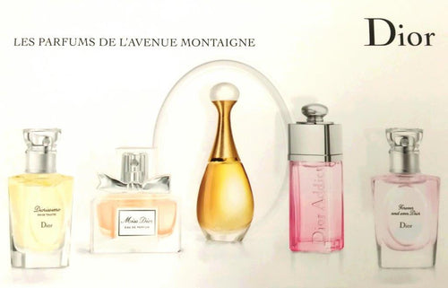 Les Parfums de L'Avenue Montaigne by Christian Dior 5 Gift Set for Women - GetYourPerfume.com