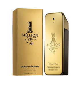 1 Million by Paco Rabanne 3.3 oz EDT Spray for Men - GetYourPerfume.com