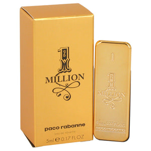 1 Million by Paco Rabanne 0.17 oz Mini Eau de Toilette for Men - GetYourPerfume.com