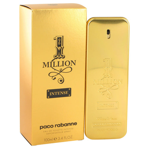 1 Million Intense by Paco Rabanne 3.4 oz EDT Spray for Men - GetYourPerfume.com