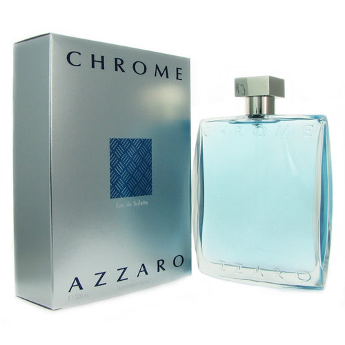 Chrome by Azzaro 6.7 oz Eau de Toilette Spray for Men - GetYourPerfume.com