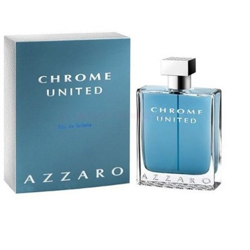 Azzaro Chrome United by Azzaro 6.8 oz Eau de Toilette EDT Spray for Men - GetYourPerfume.com