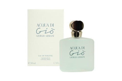 Acqua Di Gio by Giorgio Armani 1.7 oz Eau de Toilette Spray for Women - GetYourPerfume.com