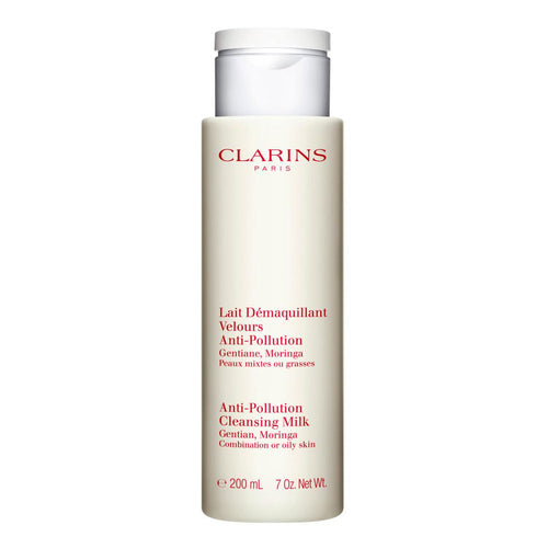 Clarins Cleansing Milk With Gentian (Combination or Oily Skin) 7.0 oz - GetYourPerfume.com