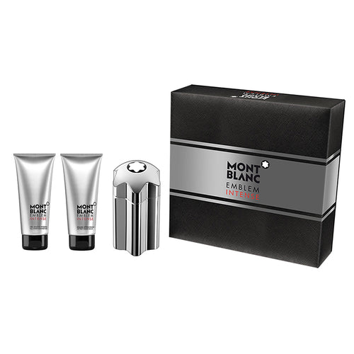 Emblem Intense by Montblanc 3 Piece Gift Set for Men