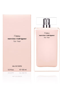 L'eau for Her by Narciso Rodriguez 3.3 oz Eau De Toilette Spray for Women - GetYourPerfume.com