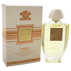Acqua Originale Vetiver Geranium by Creed 3.3 oz Millesime Spray for Women - GetYourPerfume.com