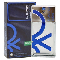 B. United Jeans by United Colors of Benetton 3.3 oz Eau De Toilette Spray for Men - GetYourPerfume.com