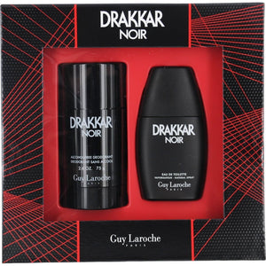 Drakkar Noir by Guy Laroche 2 Piece Gift Set for Men - GetYourPerfume.com