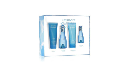 Cool Water by Davidoff 4 Piece Gift Set for Women - GetYourPerfume.com