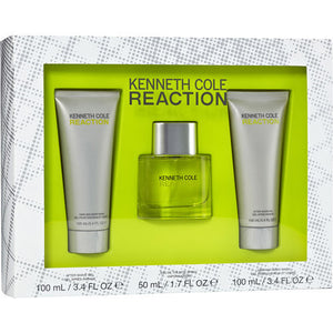Kenneth Cole Reaction 3-Piece Gift Set for Men - GetYourPerfume.com