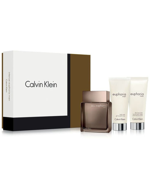 Calvin Klein Euphoria Intense by Calvin Klein  3Piece Gift Set for Men - GetYourPerfume.com